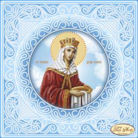Схема вышивки бисером на атласе Святая Равноапостольная Царица Елена Tela Artis (Тэла Артис) ТИС-022(1) - 75.00грн.
