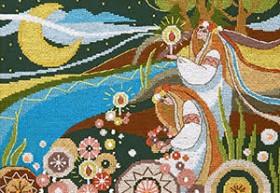 Набор для вышивания крестом Купальская ночь Cristal Art ВТ-239 - 219.00грн.