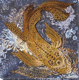 Набор для вышивки бисером Денежная рыбка Абрис Арт АВ-823 - 540.00грн.