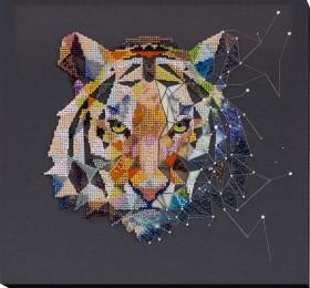 Набор для вышивки бисером Созвездие тигра Абрис Арт АВ-834 - 405.00грн.