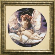 Набор для вышивки крестом Ангел - Хранитель по мотивам Г. Ферье