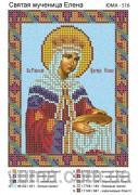 Схема вышивки бисером на атласе Св. Елена