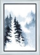 Набор для вышивания крестом Зимний лес