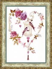 Набор для вышивки крестом Дуэт Cristal Art ВТ-121