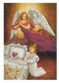 Схема для вышивки бисером на габардине Вечерняя Молитва Акорнс А4-К-867 - 50.00грн.