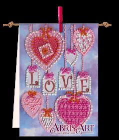 Набор-флажок для вышивки бисером на холсте Подвески Абрис Арт АТ-003 - 87.00грн.