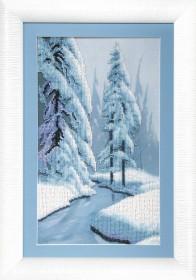 Набор для вышивки бисером Зимняя сказка