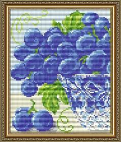 Набор для выкладки алмазной мозаикой В хрустале. Виноград Диптих 1 Art Solo АТ5545 - 248.00грн.
