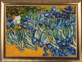 Набор для вышивки бисером Полевые ирисы по мотивам картины Ван Гога Баттерфляй (Butterfly) 265 - 612.00грн.