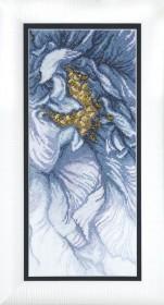 Набор для вышивки крестом Голубое настроение