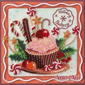 Набор-мини для вышивки бисером на натуральном художественном холсте Праздничные сладости Абрис Арт AM-198 - 103.00грн.