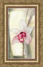 Набор для частичной вышивки крестом Розовая орхидея