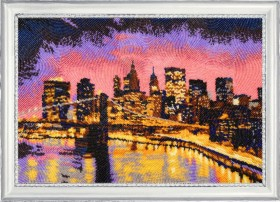 Набор для вышивки бисером Ночной Нью-Йорк Баттерфляй (Butterfly) 398Б - 683.00грн.