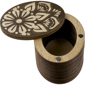 Шкатулка  для бисера крышкой Мандала круглая Волшебная страна FLZB(N)-011 - 110.00грн.