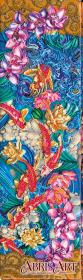 Набор для вышивки бисером Карпы Кои
