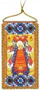 Набор - оберег для вышивки бисером Молитва о помощи в учении (рус. яз)