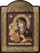 Набор для вышивки бисером с рамкой Богородица Троеручница