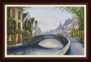 Набор для вышивки крестом Бельгийский город