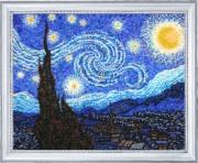 Набор для вышивки бисером Звездная ночь (по мотивам В. Ван Гога)