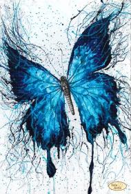 Рисунок на ткани для вышивки бисером Ультрамарин Tela Artis (Тэла Артис) ТК-090 - 145.00грн.