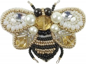 Набор для изготовления броши Пчёлка