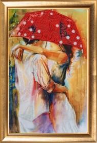 Набор для вышивки бисером Пара под зонтом Баттерфляй (Butterfly) 836Б - 315.00грн.