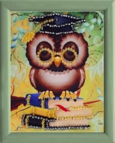 Схема для вышивки бисером Мудрая сова Баттерфляй (Butterfly) СМ113 - 12.00грн.