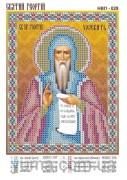 Схема вышивки бисером на атласе Св. Пр. Георгий
