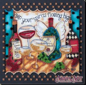 Набор-миди для вышивки бисером на натуральном художественном холсте Пятничное Абрис Арт AMB-033 - 210.00грн.