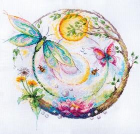 Набор для вышивки крестом Цветное чудо Абрис Арт АН-135 - 351.00грн.