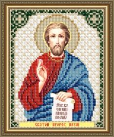 Схема вышивки бисером на авторской канве Святой Пророк Наум Art Solo VIA5191 - 25.00грн.
