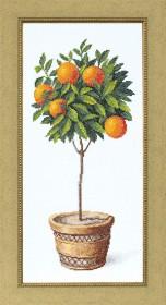Набор для вышивки крестом Апельсиновое дерево