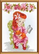 Набор для вышивки крестом Читательница