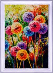 Набор для вышивки бисером Радужные одуванчики  Баттерфляй (Butterfly) 134Б - 346.00грн.