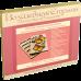 Органайзер с крышкой под вышивку бисером Бабочки Волшебная страна FLZB-071
