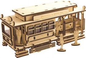 Набор деревянный конструктор Трамвай  Чарiвна мить (Чаривна мить) F-104 - 173.00грн.