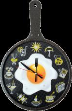 Набор для вышивки нитками. Часы Время готовить Новая Слобода (Нова слобода) PT6533