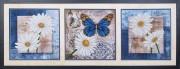 Набор для вышивки бисером Цветы любви (Триптих)