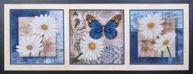 Набор для вышивки бисером Цветы любви (Триптих) Магия канвы Б-038 МК - 975.00грн.