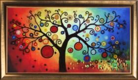 Набор для вышивки бисером Дерево богатства, , 237.00грн., 367Б, Баттерфляй (Butterfly), Схемы и наборы для вышивки бисером по Фен шуй