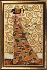 Набор вышивки бисером Ожидание по мотиваим Г. Климта Баттерфляй (Butterfly) 338Б