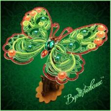 Набор для вышивки бисером Ажурная бабочка 3D 085 Вдохновение BGP-085