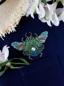 Набор для вышивки крестом на одежде Мау-Сит-Сит - 1 Абрис Арт АНО-018 - 156.00грн.
