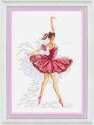 Набор для вышивки крестом Грация балета