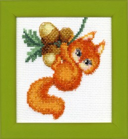 Набор для вышивки крестом Лесные лакомства Cristal Art ВТ-031 - 48.00грн.