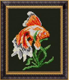 Набор для вышивки ювелирным бисером Символ богатства, , 84.00грн., 80815, Краса и творчiсть, Схемы и наборы для вышивки бисером по Фен шуй