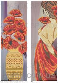 Схема вышивки бисером на атласе Панно Мечты , , 150.00грн., ЮМА-Т-12, Юма, Картины из нескольких частей