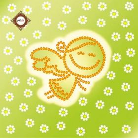 Схема-миниатюра для вышивки бисером Летний ангел