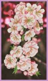 Набор для вышивки бисером Ветка сакуры