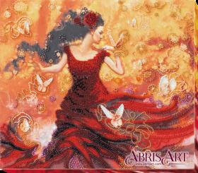 Набор для вышивки бисером на холсте Танцующая свет Абрис Арт AB-672 - 405.00грн.